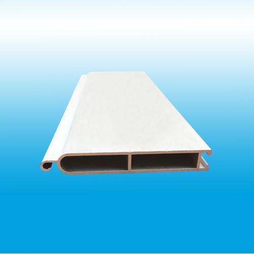 aluminum bottom rail for polycarbonate rolling shutter door